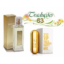 Perfume Feminino Traduções Hinode 63 Ch 212 Vip Fem 100 Ml
