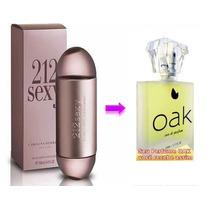 Perfume Importado Similar 212 Sexy Carolina Herrera - Oak