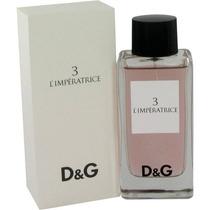 Dolce & Gabbana 3 L Imperatrice Fem. Edt 100ml