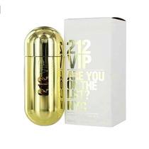 Perfume Feminino 212 Vip 80ml Carolina Herrera 100% Original