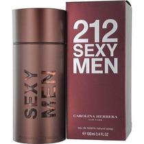 Perfume Carolina Herrera 212 Sexy Masc Edt 100ml Fretegrátis