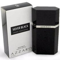 Perfume Azzaro Silver Black Edt Masc De 100ml - Original!!!