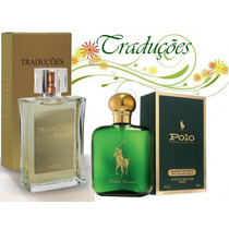 Hinode Traduções Gold 3 Polo Green Verde Perfume 100ml