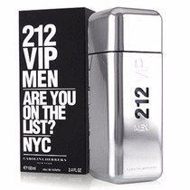 Perfume 212 Vip Men 100ml Carolina Herrera Original/ Lacrado