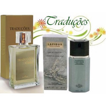 Hinode Trad. Gold 31 = Perfume Ted Lapidus Pour Homme 100ml