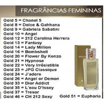 Perfumes Traduções Gold Hinode - Importados 100ml Promoção