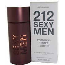 Perfume Tester 212 Sexy Men 100ml Edt Original