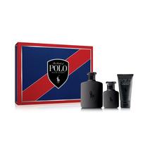 Gift Set Polo Double Black Com3 Itens Masculino Ralph Lauren