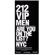 Perfume 212 Vip Men Original 50ml Masculino Importado Usa