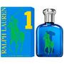 Perfume Polo Big Pony Blue 1 Masculino Eau De Toilette 125ml