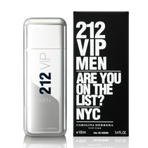 212 Vip Men Edt Masculino 100ml Carolina Herrera