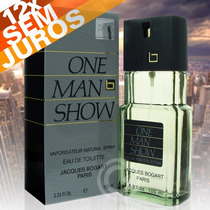 Perfume One Man Show 100 Ml - J. Bogart - Original