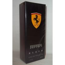 Perfume Masculino Ferrari Black Importado 50 Ml Baratos