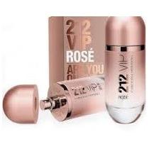 04 Perfumes Importados Vip Rosé 1° Linha Similar Ao Original