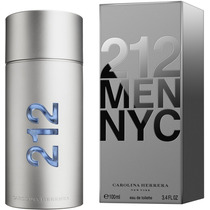 Perfume 212 Men Nyc Carolina Herrera 100ml Original Lacrado