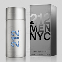 Perfume 212 Men Carolina Herrera 100ml Importado - Original