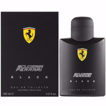 Perfume Ferrari Black Masculino 100ml Original Lacrado.