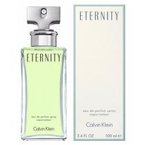 Perfume Eternity 100ml Calvin Klein - Selo Anvisa E Adipec