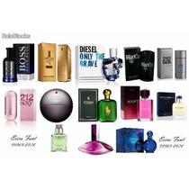 Kit De Perfumes Importados 10 Peças 1° Linha Similar Ao Orig