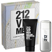 Kit 212 Vip Men 100 Ml + Gel Pos Banho Original Lacrado