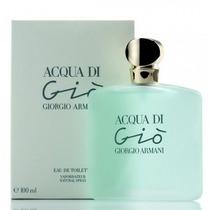 Perfume Acqua Di Gio Feminino Giorgio Armani 100ml Edt