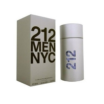 Perfume Carolina Herrera 212 Men Nyc Lacrado 100ml Importado