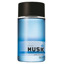 Novo Perfume Colônia Avon Musk Marine + Brinde Frete+ Barato