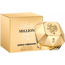 Perfume Lady Million 80ml - 100% Original E Lacrado _e.u.a