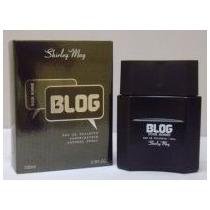 Perfume Masculino Shirley May Blog 100ml - Leilão