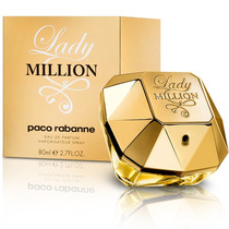 Perfume Lady Million Edt Fem 80ml Paco Rabanne