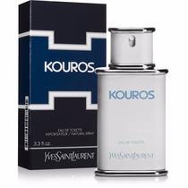 Perfume Kouros 100ml Yves Saint Laurent Original E Lacrado