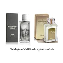 Perfume Traduções Gold Hinode Abercrombie Fierce 100 Ml Orig