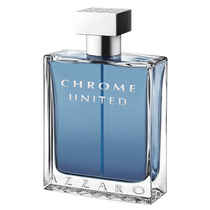 Chrome United Masculino Edt. 50 Ml Azzaro