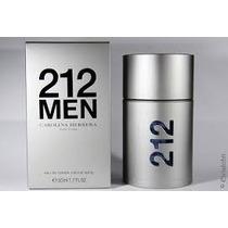 Perfume Original 212men 100ml Edt Carolina Herrera + Brinde!