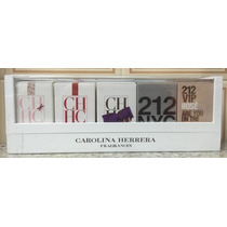 Kit Miniaturas Carolina Herrera Feminino - *lançamento