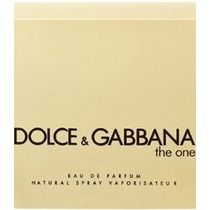 Perfume Feminino Dolce & Gabbana The One 50ml Importado