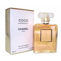 Perfume Coco Mademoiselle Chanel 100ml Eau De Parfum Lacrado
