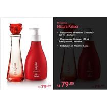 Kriska Super Kit Natura Promoção+cupom Desconto+brinde