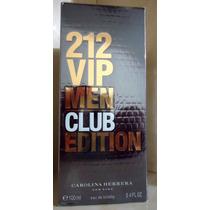 212 Vip Men Club Edition Edt 100 Ml Carolina Herrera
