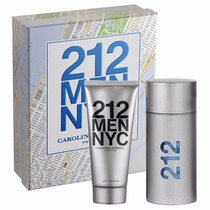 Kit 212 Men Nyc Perfume 100 Ml.+ Gel Barbear 100 Ml