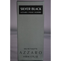Perfume Masc Azzaro Silver Black 50ml 100% Similar Original