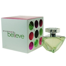 Perfume Feminino Britney Spears Believe 100ml Importado Usa