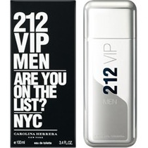 Carolina Herrera 212 Vip Masculino Edt - 100 Ml
