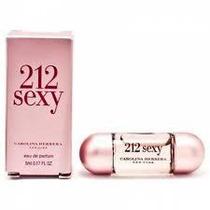 Perfume 212 Sexy Carolina Herrera- Miniatura 5ml - Original