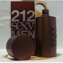 Perfume Carolina Herrera Masculino 212 Sexy Men Edt 100 Ml