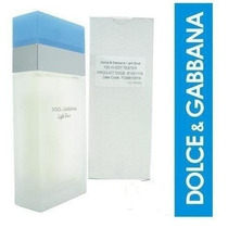 Perfume Light Blue 100ml Edt Dolce Gabbana Original Tester