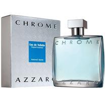 Chrome By Azzaro Masculino Edt 100ml Original Lacrado