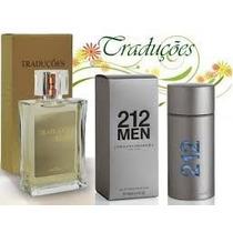 Perfume Masculino Ch 212 Men 100 Ml Traduções Gold Nº18