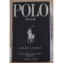 Perfume Polo Black Ralph Lauren Masculino Edt 125 Ml