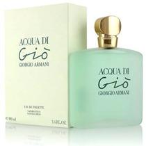 Perfume Feminino Armani Acqua Di Gio 100ml Edt Original